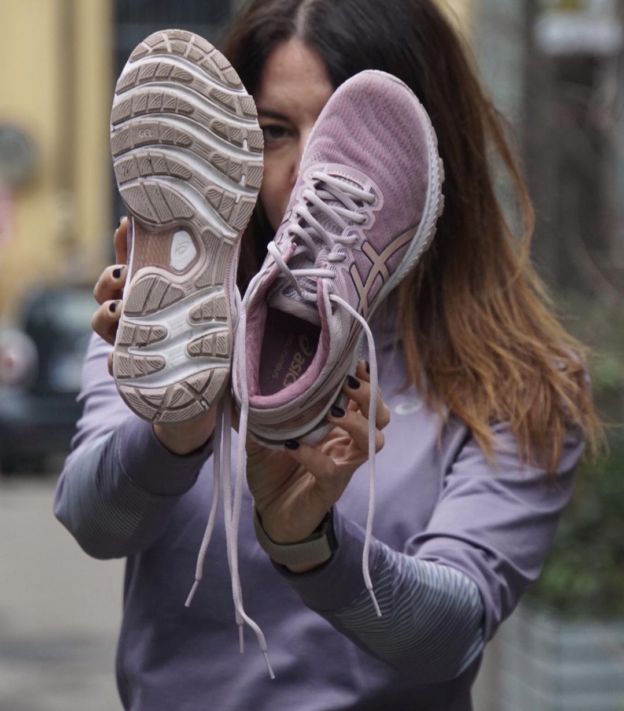 asics nimbus 22 donna running